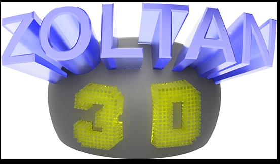 Zoltan 3D Logo